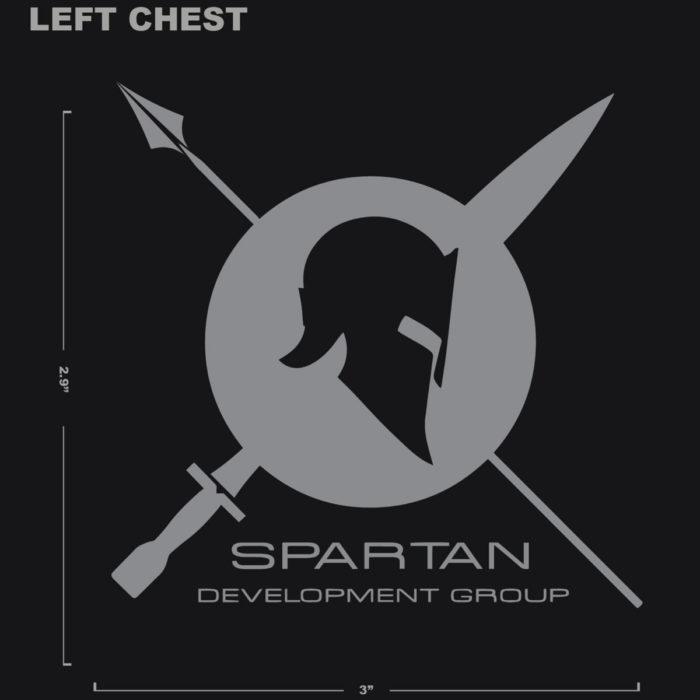 Spartan development group t-shirt logo
